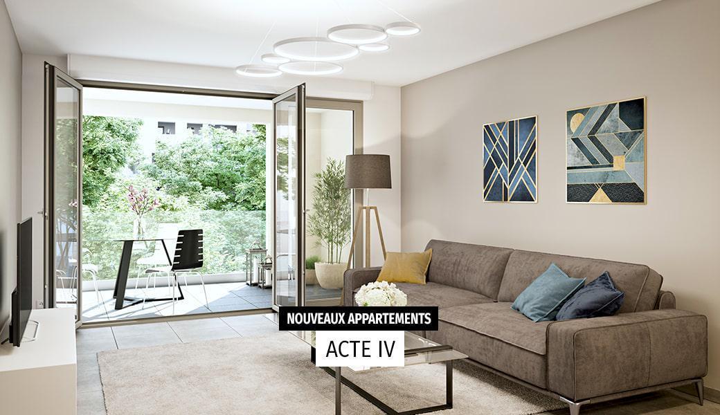 Programme immobilier NOUVELLES SCÈNES 13080 AIX EN PROVENCE