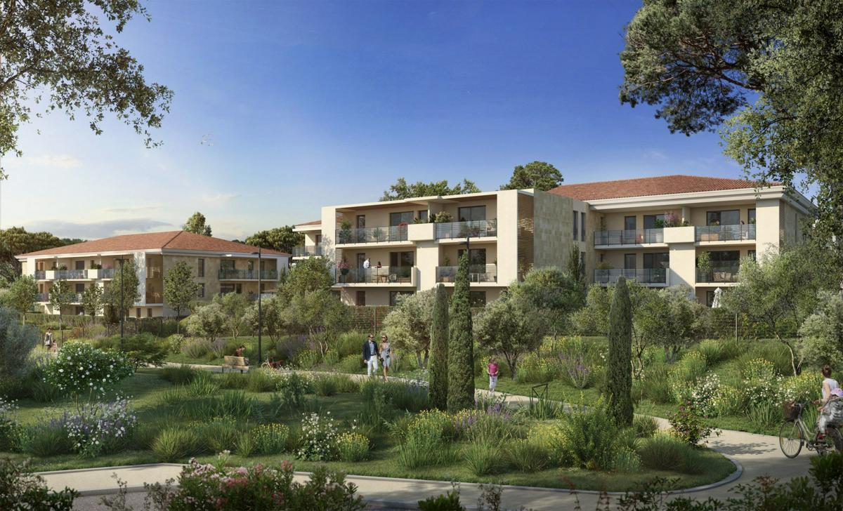 Programme immobilier VILLA OLEIA 13080 AIX EN PROVENCE