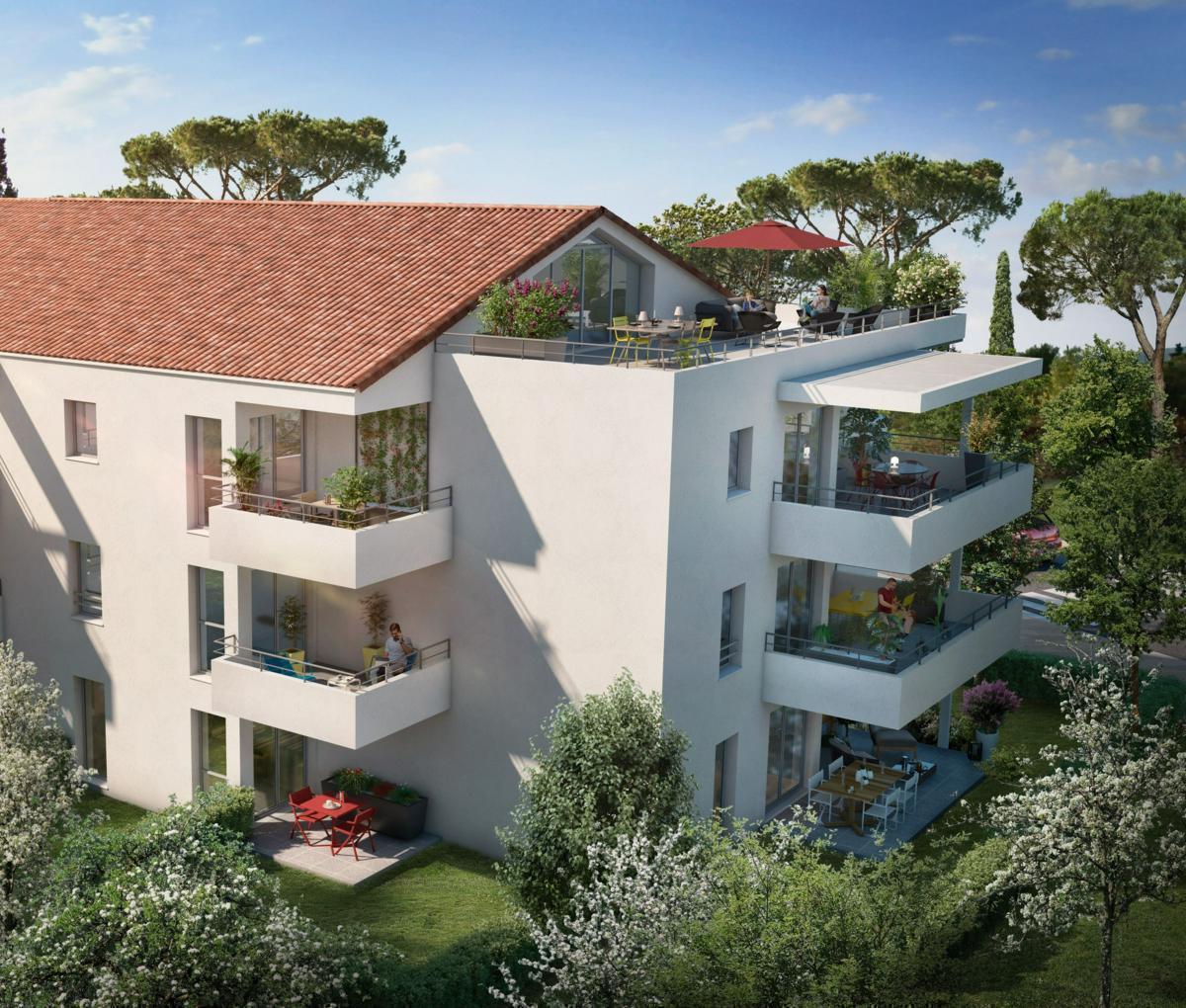 Programme immobilier LES ROCHES BLEUES 13600 LA CIOTAT