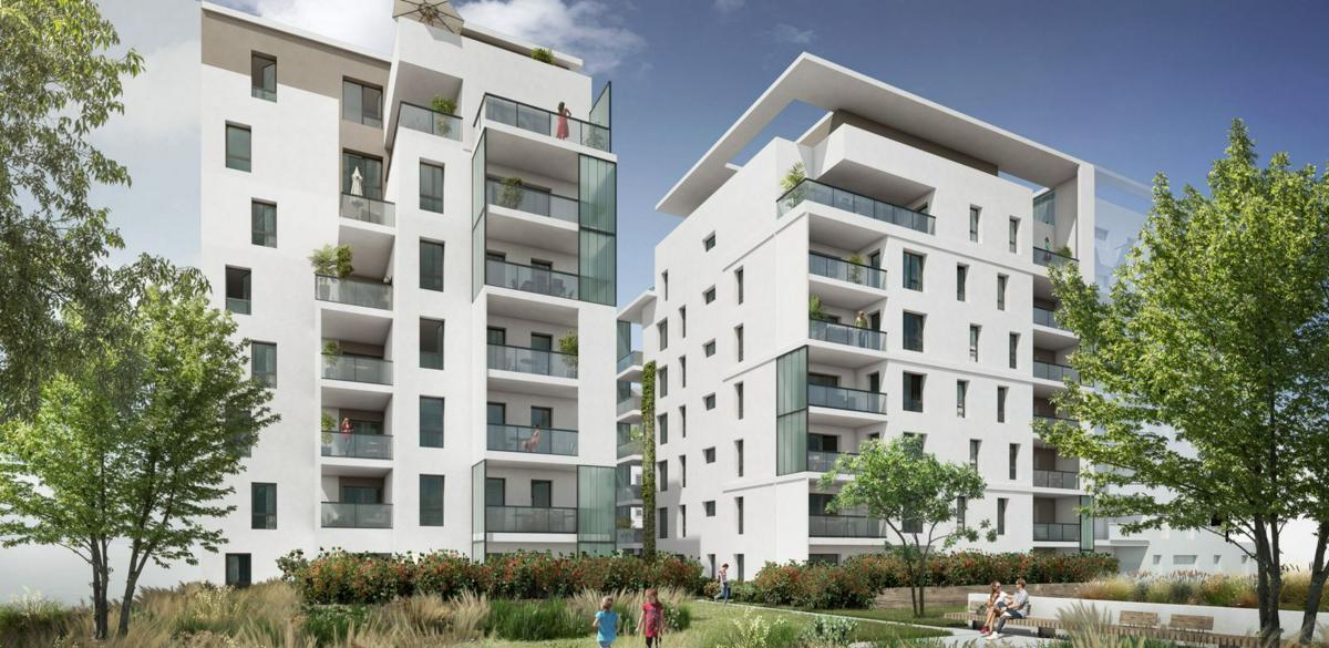 Programme immobilier ECRIN II LUMIERE 69008 LYON 08
