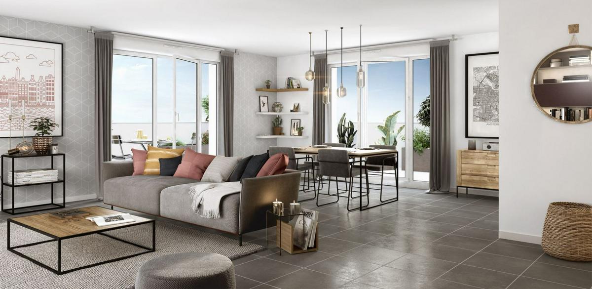 Programme immobilier IDYLLE EN VILLE 69100 VILLEURBANNE
