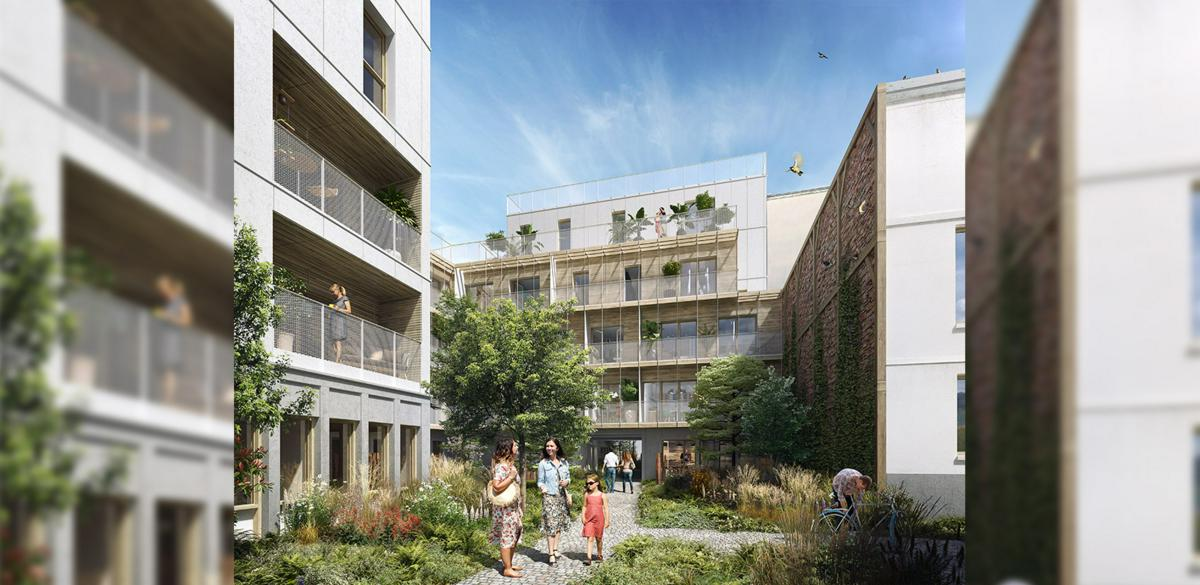 Programme immobilier L'INSOLITE 75020 PARIS 20