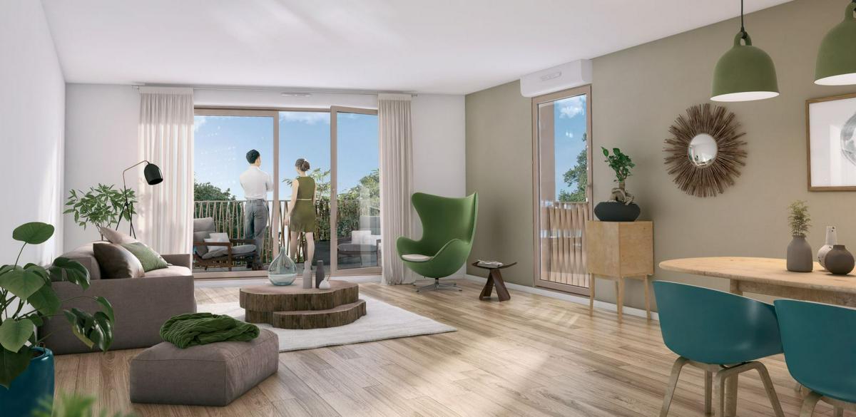 Programme immobilier LE CLOS DES ORMES 77606 BUSSY SAINT GEORGES