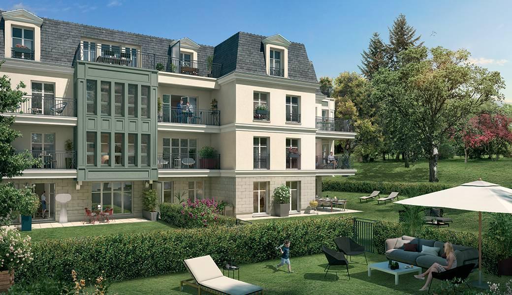 Programme immobilier LE DOMAINE DU PARC 92410 VILLE D AVRAY