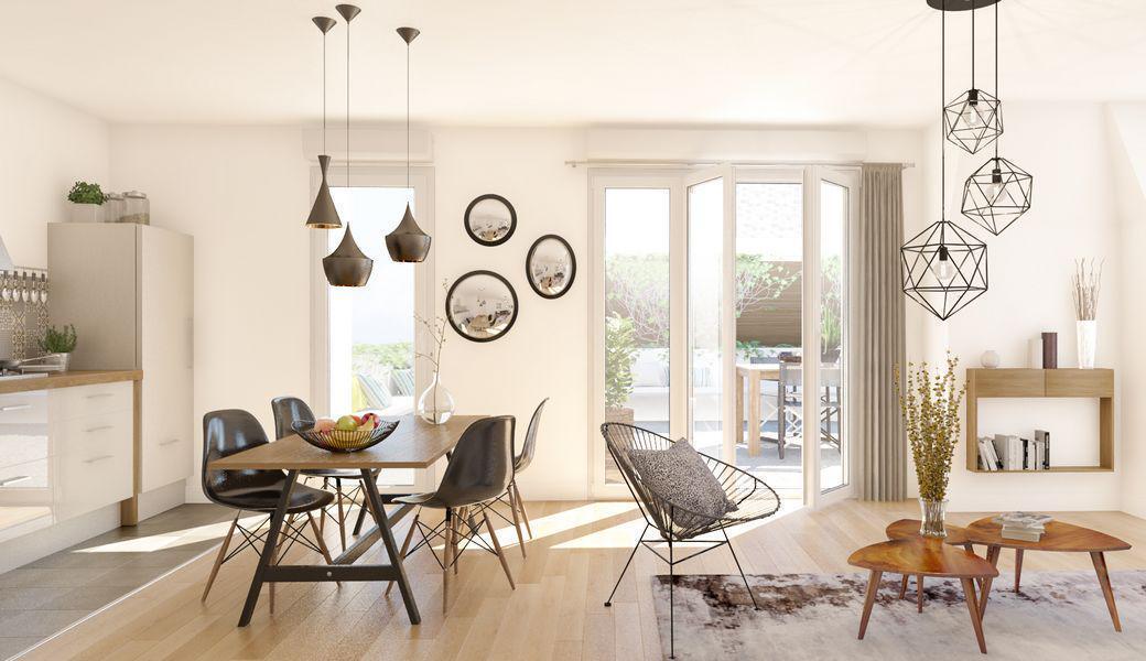 Programme immobilier LE CASTELIN 93150 LE BLANC MESNIL