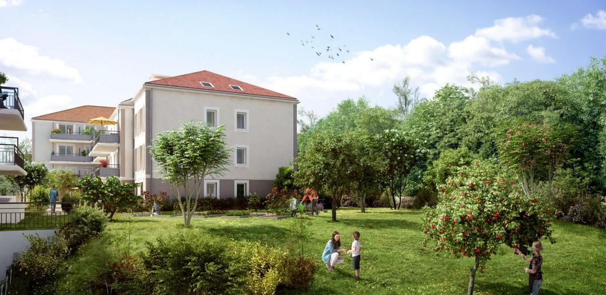 Programme immobilier LES VERGERS FÉNELON 93410 VAUJOURS