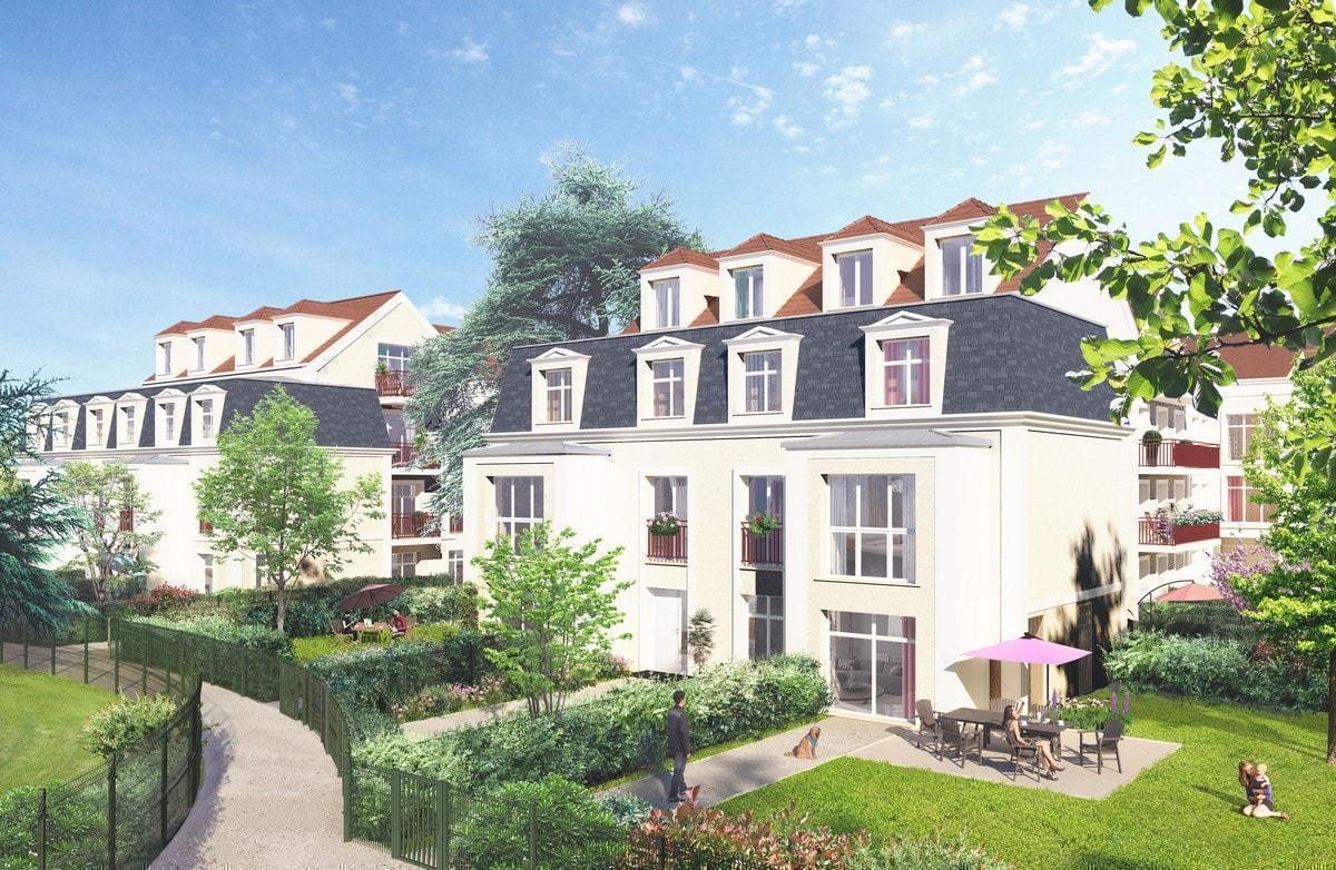 Programme immobilier LE CÈDRE BLEU 95320 SAINT LEU LA FORET