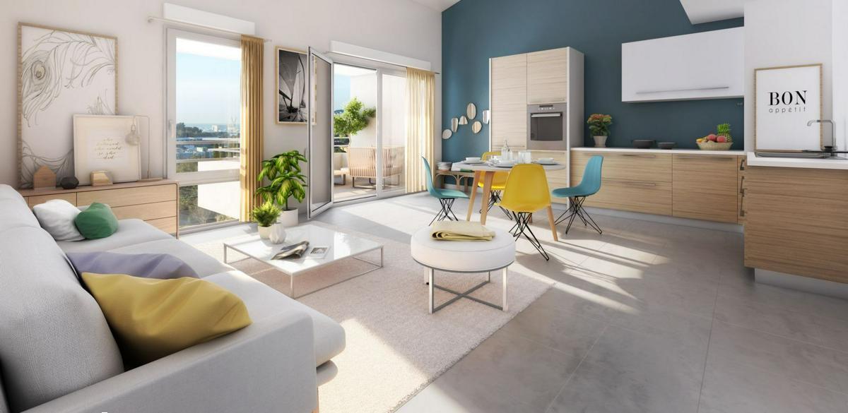 Programme immobilier PATIO JADE 13600 LA CIOTAT
