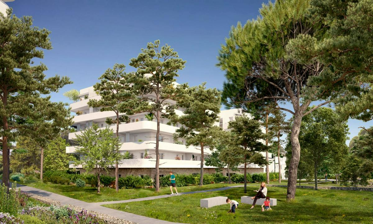 Programme immobilier SECONDE NATURE 13010 MARSEILLE 10
