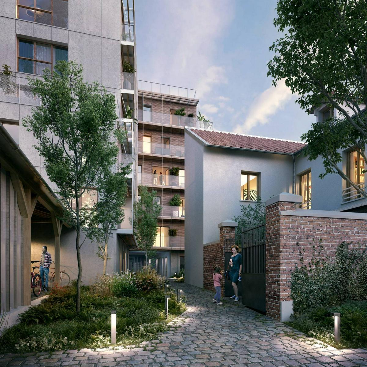Programme immobilier L'INSOLITE 75976 PARIS 20